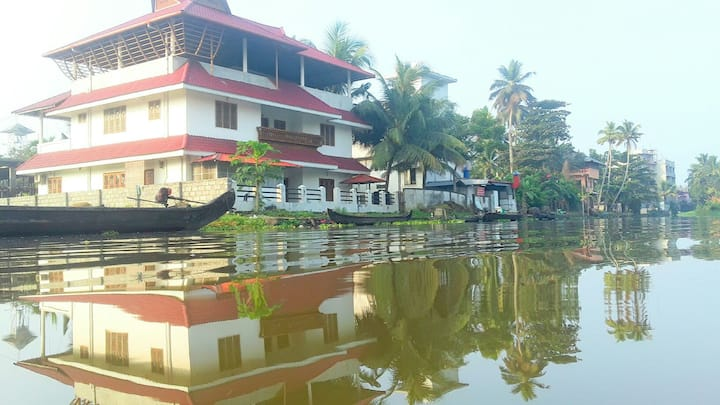 Canal View Homestay@ Kumarakom, affordable rates