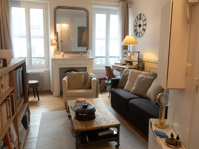 charming bright apt near Montparnasse - Professional Cleaning