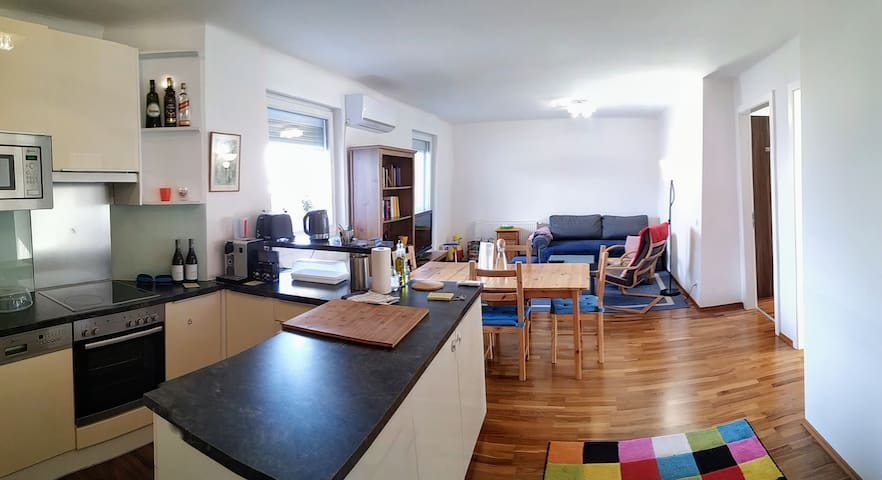 Family-friendly flat with balcony