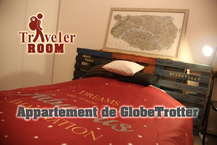 Chambre Cosy Chez Un Voyageur Globe Trotter Appartements A Louer A Rennes Bretagne France