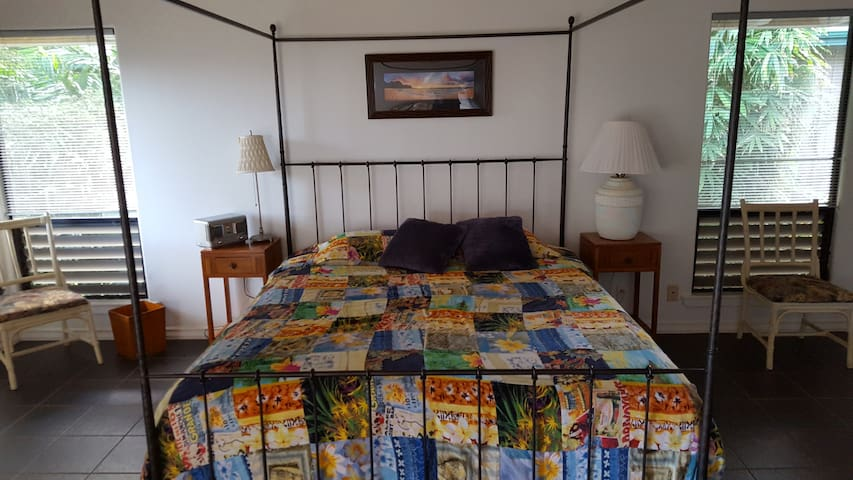 Spacious and Tranquil Private Suite - Princeville - Casa