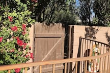 your gate with pool access!