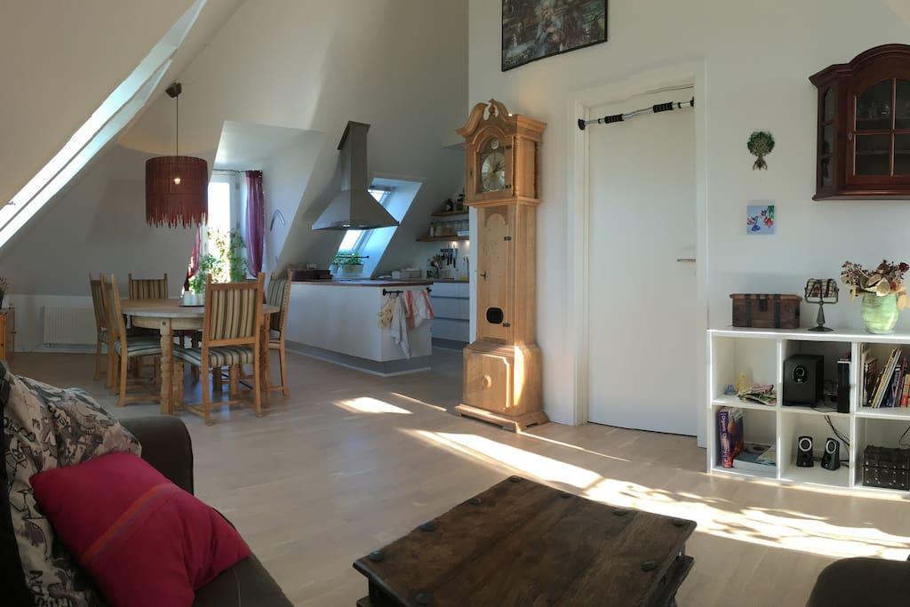 Modern shared apartment in safe and cozy district for Kopenhagen unterkunft