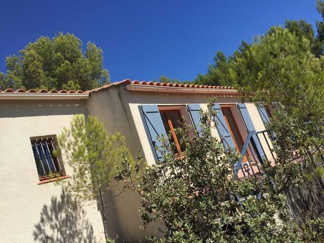 Modern ingerichte, rustige villa met privé zwembad - Siran - Villa