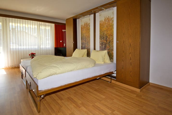Casa Viva, (Bad Ragaz), 1 1/2 room apartment no. 4