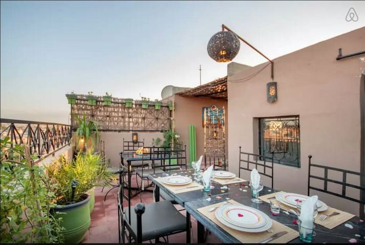 Appartement panoramique Medina - Marrakesh - Leilighet