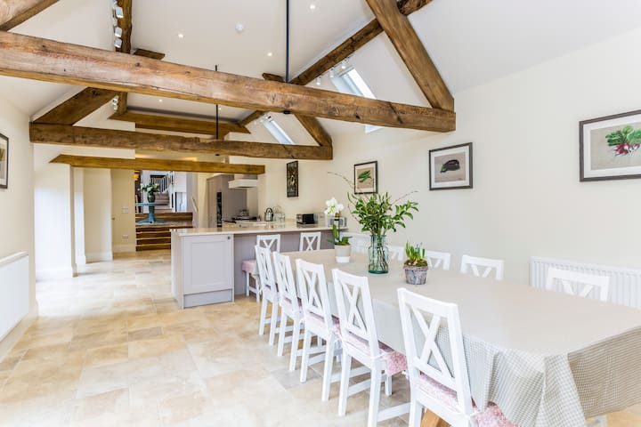 Brand new luxury barn conversion