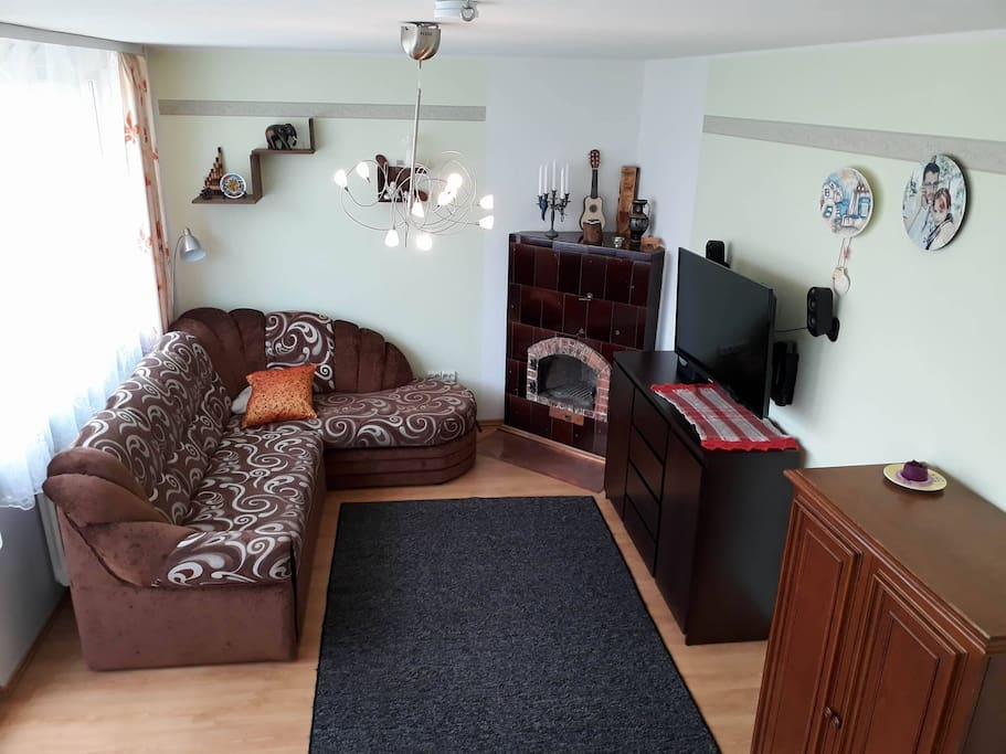 You will find - central heating, TV (various channels for Estonians and Foreigners)
