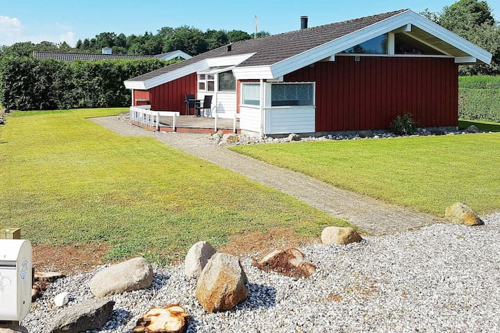 Luxurious Holiday Home in Bjert on Beach