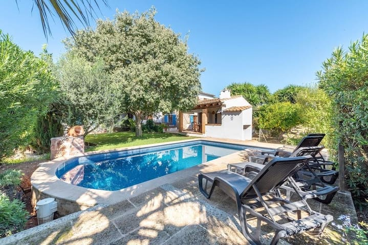 Fantastic Private Finca with Pool, Can Jaume.
