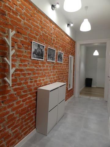 pokój przy Dworcu Fabrycznym / NCŁ i EC1