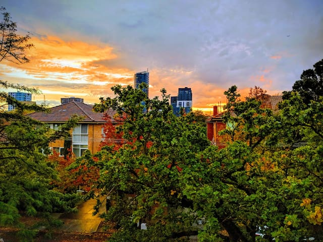 South Yarra Home with a View