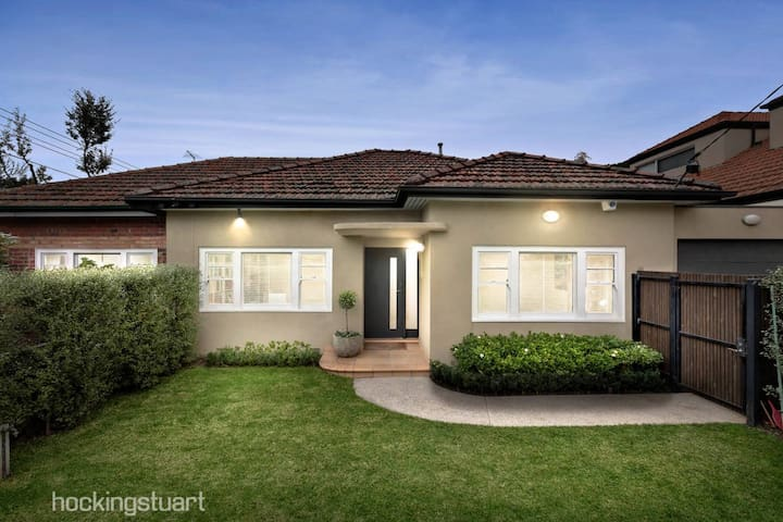 Beautiful park-side home in the heart of Caulfield