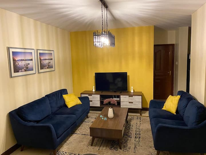 Serene homely apartment for your comfort.