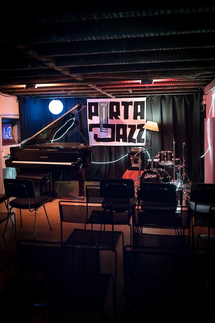 Porta-Jazz  Stage