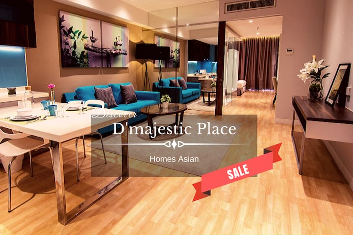 D'majestic Place by Homes Asian -One bedroom suite