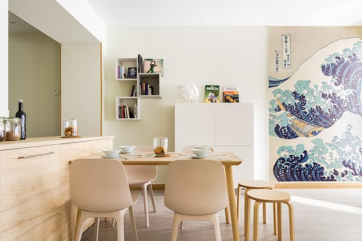 ♥Apt. in Bilbao city center: families and groups