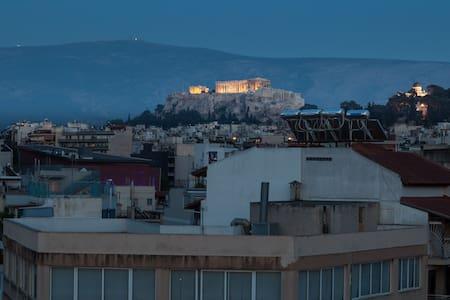 101-Luxury Apartment Jacuzzi & Acropolis View - 雅典 - 公寓