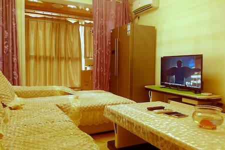 精装修高层豪华大床落地大飘窗风景公寓 - Xianyang