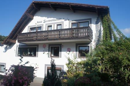 Urlaub in der Natur- Apartment mit 3 Schlafzimmern - Mespelbrunn - Leilighet