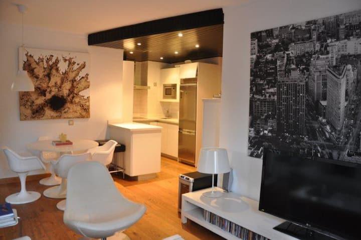Moderno y luminoso, 2 dormitorios en Illetas 90mt2