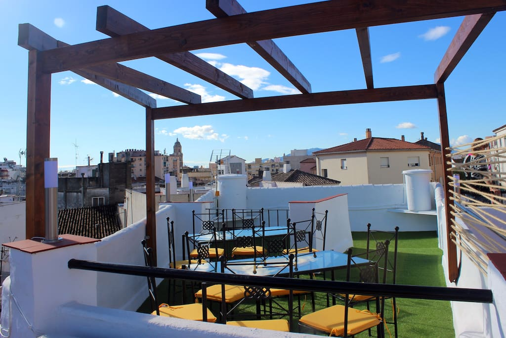 Terraza Solarium y Chill out