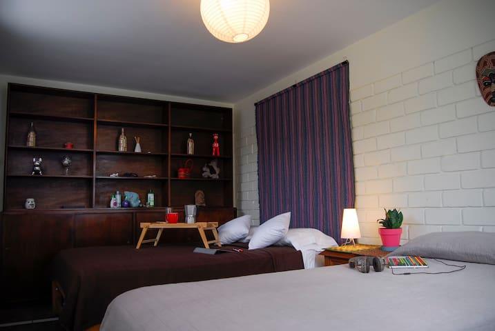 Habitación privada en Miraflores con baño privado