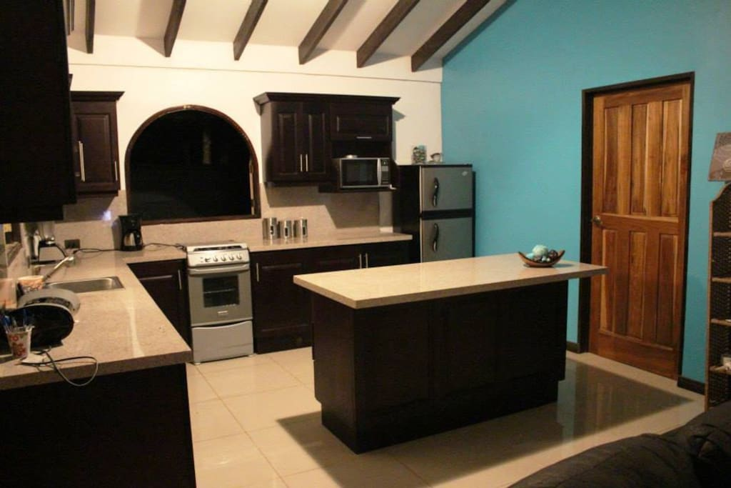 Modern Granite Kitchen with all amenities