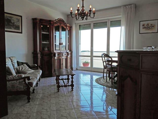 Toscana: appartamento in  collina con vista mare - Massa Marittima - Departamento