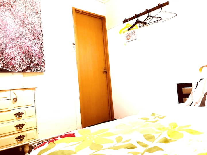 スモール ダブルルーム    USJ、大阪城、奈良、京都、神戸の日帰観光アクセス良好!