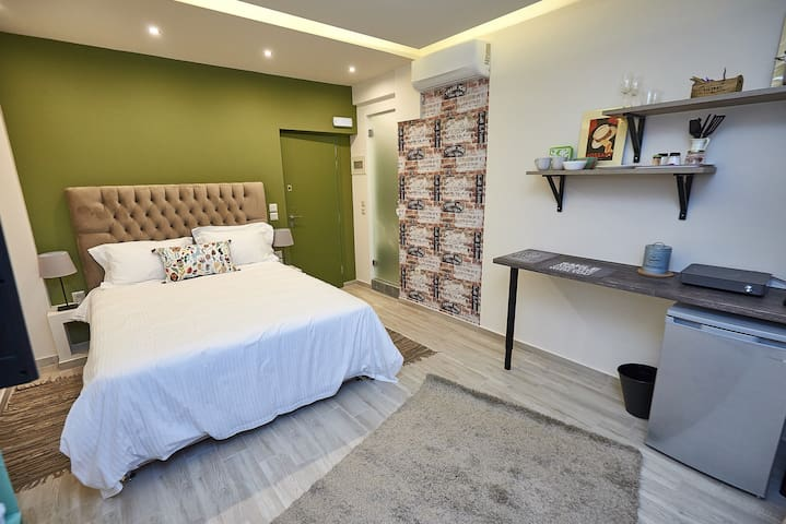 Lycabettus View 1, brand-new, central, cosy studio - Atina - Daire