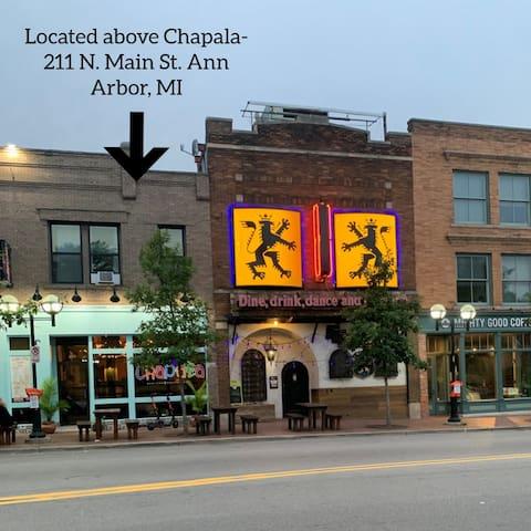 Ann Arbor Main Street Loft #1
