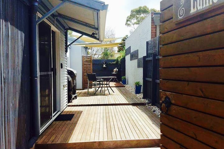 Your very own secluded courtyard