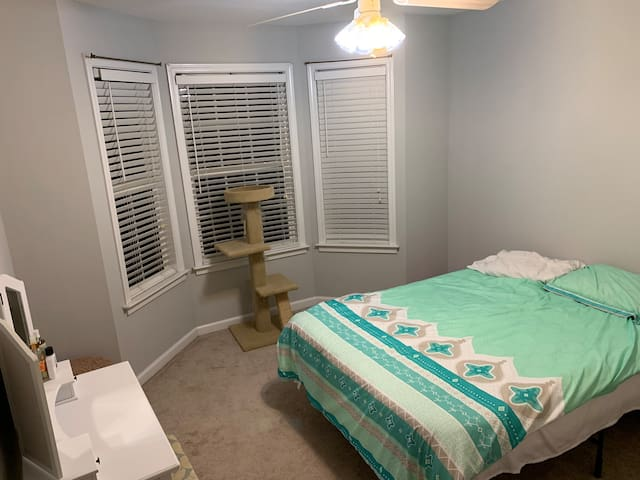Clean and simple upstairs bedroom #2