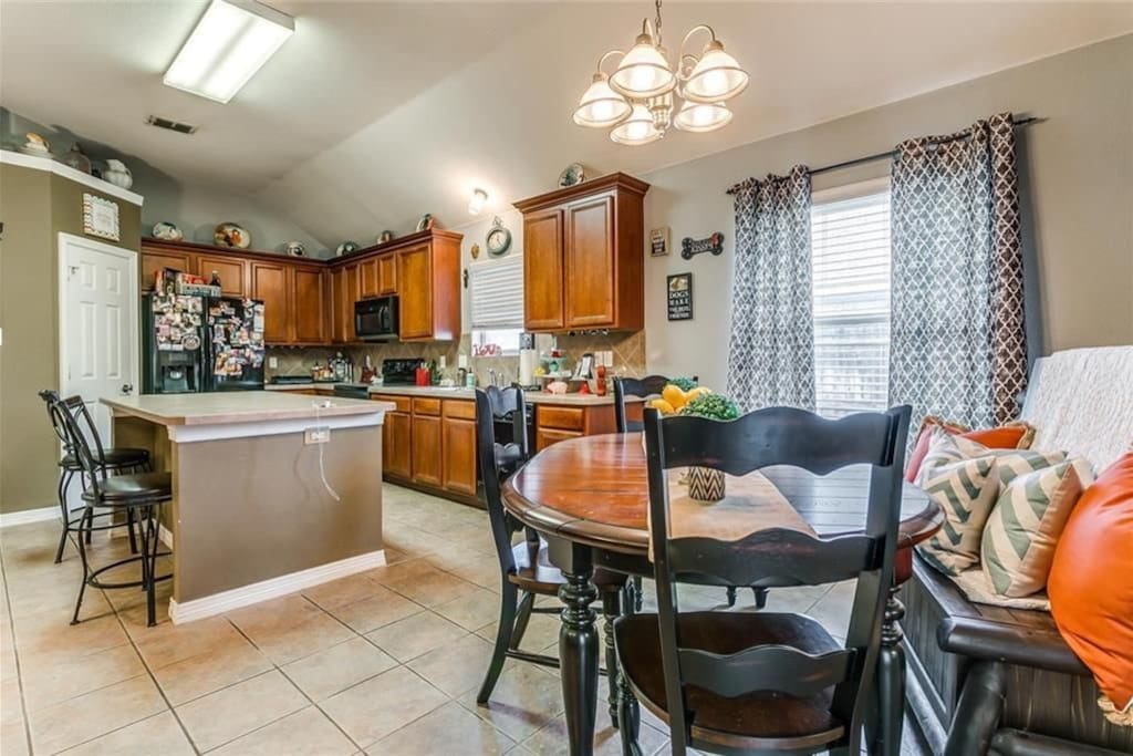 Open Kitchen/Dining/Living Room