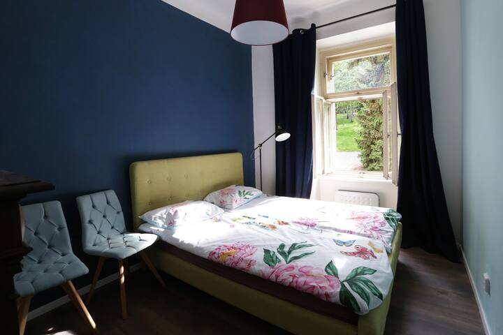 My City Forest! Cute room by the park Vysehrad