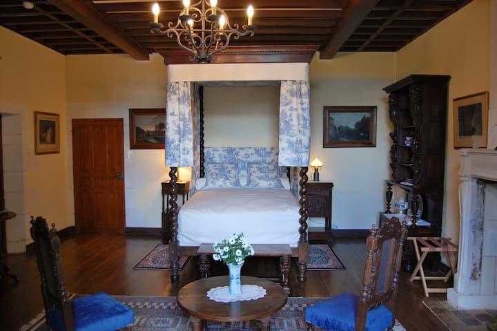 Le Château de Crazannes: La chambre du Prince Noir