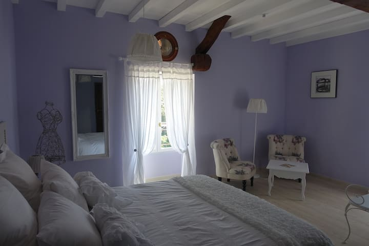 B&B Chambre romantique à la campagne près d'Albi - Fénols - Casa de hóspedes