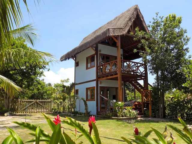 Charming bungalows integrated into nature