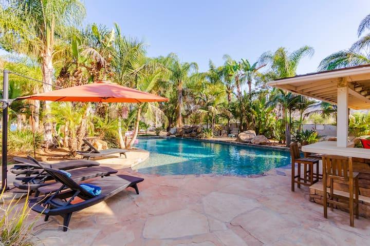 Resort Setting, Pool, Horses, Wineries, Hiking