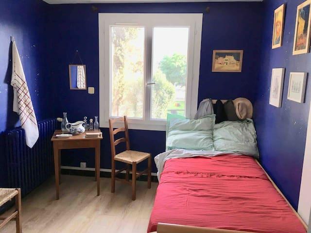 Chambre inspiration Van Gogh