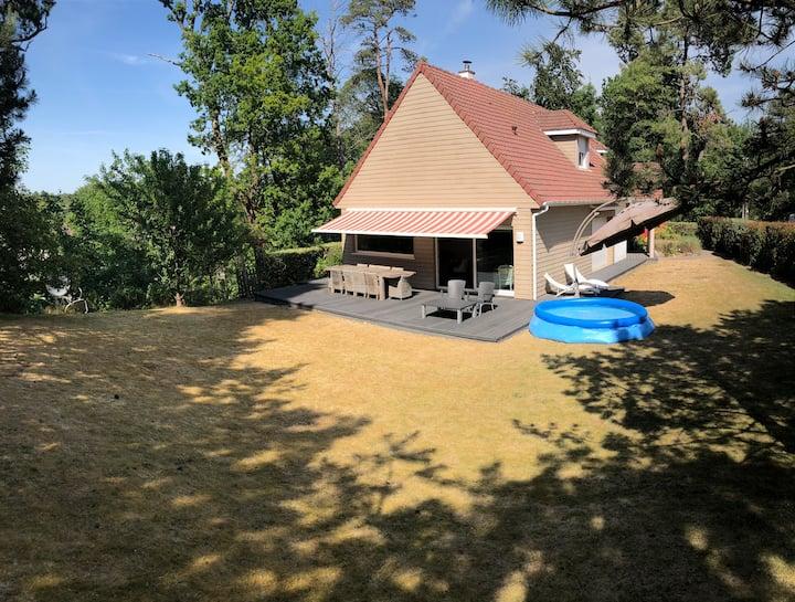 Grande villa familiale à Hardelot