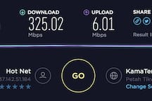 speed over WiFi