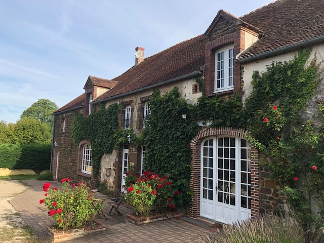 Beautiful charming house with big garden-Burgundy