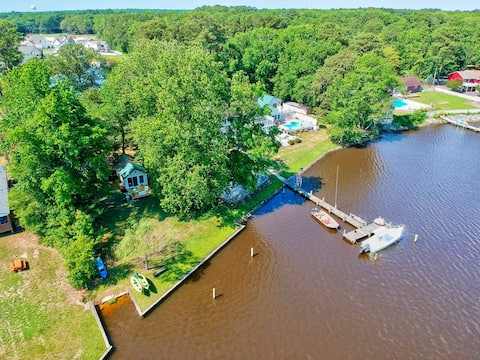 Boathouse on the Creek