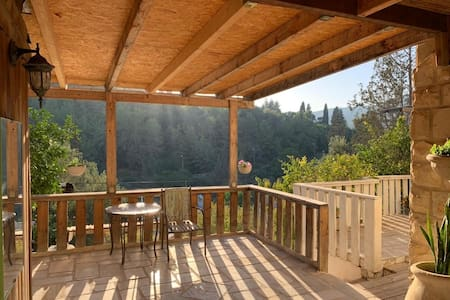 Beautiful log cabin between Carmel/Jezreel Valley