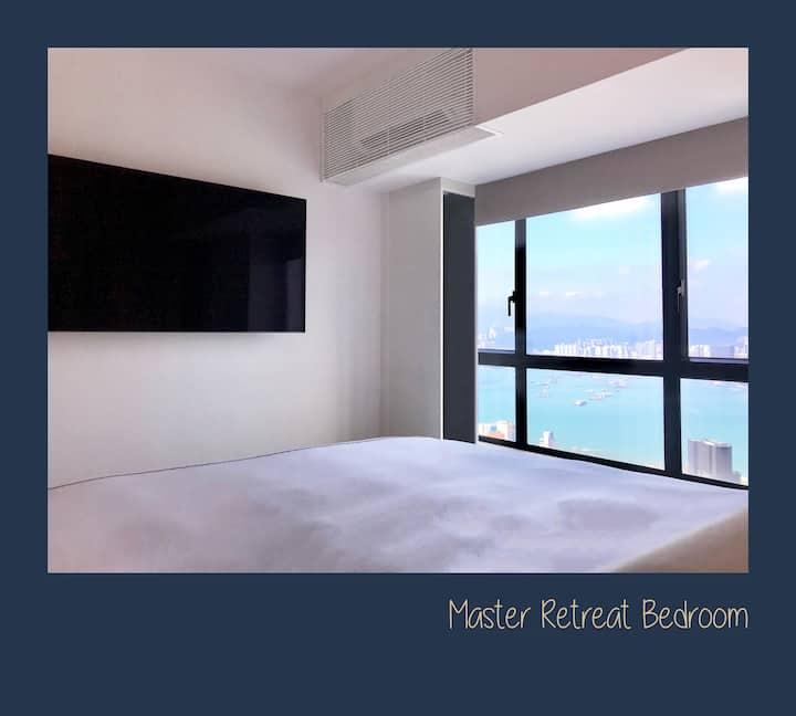 Mid-Levels Retreat Apartment by F&L