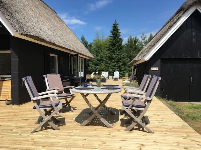 Hyggeligt sommerhus i Blåvand.