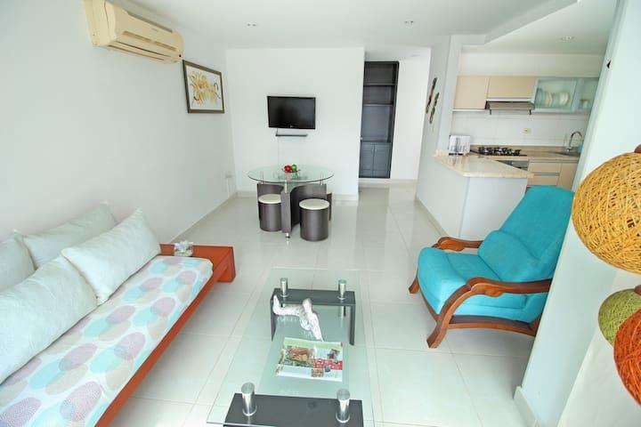 Apartamento HOME Style- Cerca al Mar SMR301A★★★★