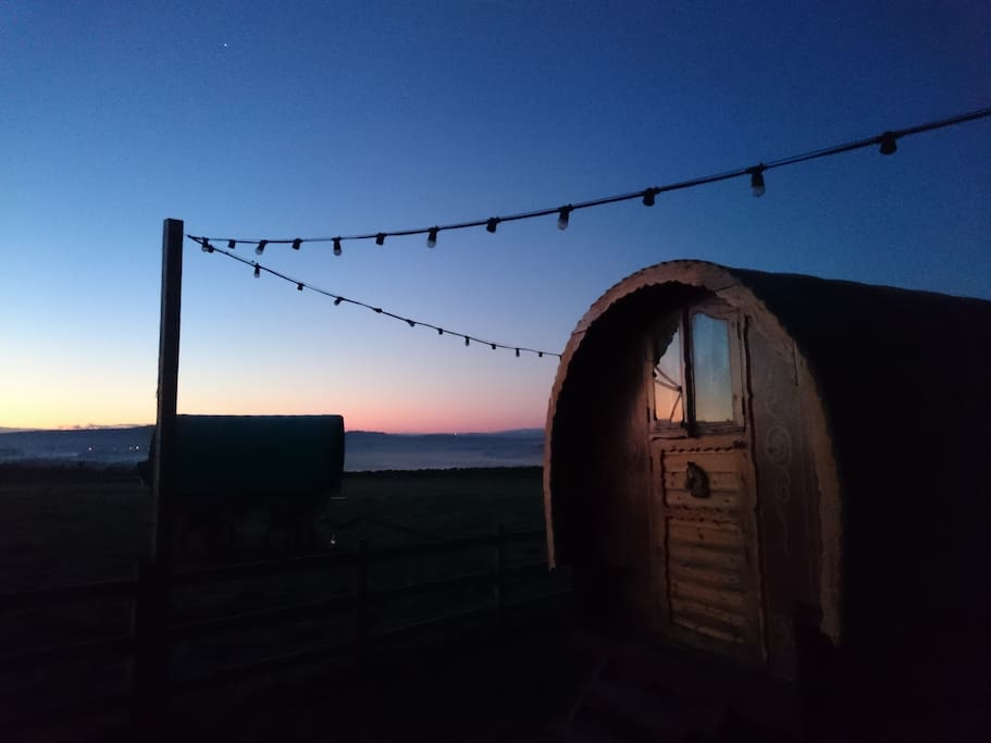 Sunset at High Barn